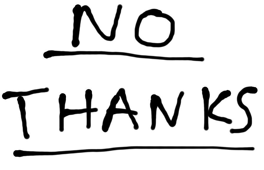 the importance of saying no karan gandhi